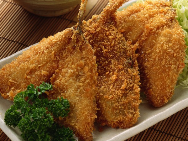 sült tengeri hal